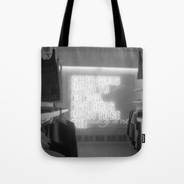 Good girls want to be bad Tote Bag