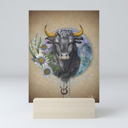 Taurus - Zodiac Sign Mini Art Print