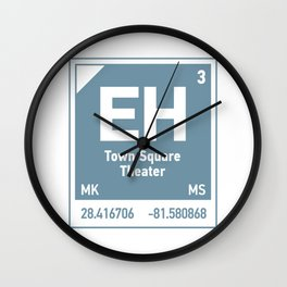 Town Square Theater element Wall Clock