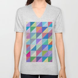 Geometric Shapes I Unisex V-Neck