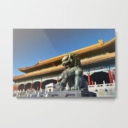Tiān'ānmén Wǔ Metal Print