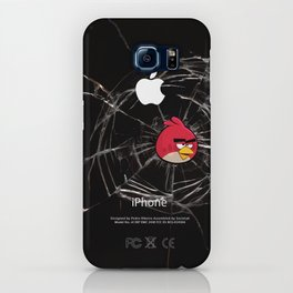 Angry Birds Breaking Glass iPhone Case