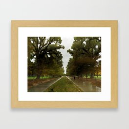 Trees in the Park by LH Framed Art Print