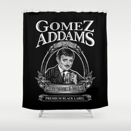 Macabre Lager Shower Curtain