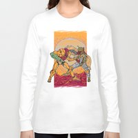 hunting Long Sleeve T-shirts featuring Bounty Hunting by MeleeNinja