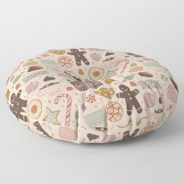 In the Land of Sweets Floor Pillow