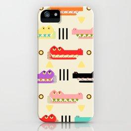 Contemporary Glyphs iPhone Case