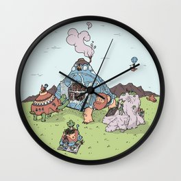 Turtle Library Wall Clock