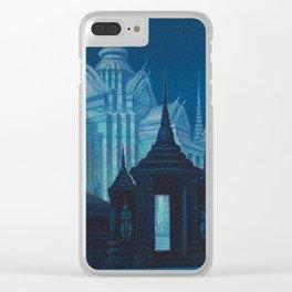 Bangkok Thailand - Siam Vintage Travel Clear iPhone Case