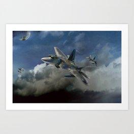 Aircraft rock Art Print