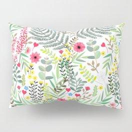 Nature Love heart Pillow Sham