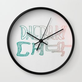 Awesome! Daebak! Wall Clock