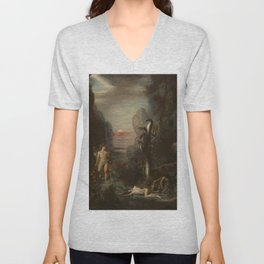 Gustave Moreau - Hercules and the Lernaean Hydra Unisex V-Neck