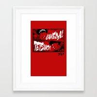 akira Framed Art Prints featuring Akira! by Demonigote