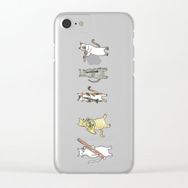 Meowtet Clear iPhone Case