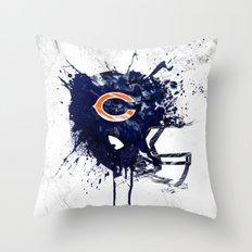 Bear Down Throw Pillow