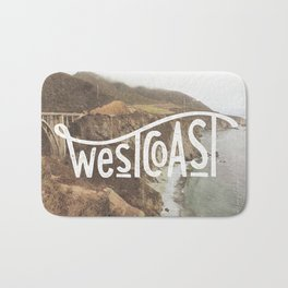 West Coast - BigSur Bath Mat
