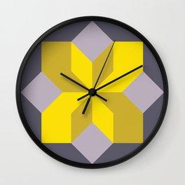 Modern Block #1 Wall Clock
