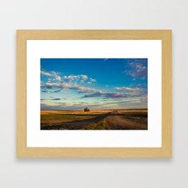 Grain Elevator 15 Framed Art Print