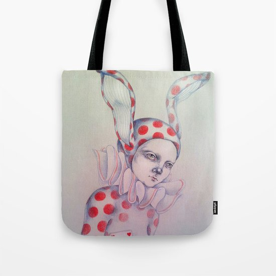 The card of hearts Tote Bag
