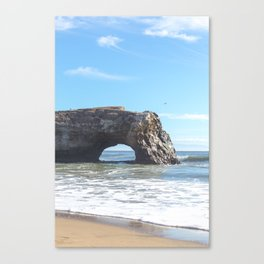 Santa Cruz Natural State Bridge Canvas Print