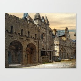 Beautiful places in Germany II Canvas Print
