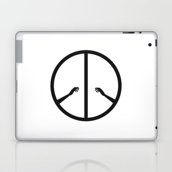 Peace struggle Laptop & iPad Skin