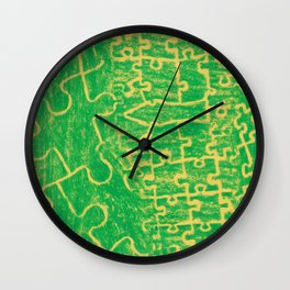 Life is a puzzle 12 Wall Clock