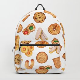 Biscuits, cookies, sweets and pastries Illustration | Food illustration Backpack