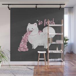 Fido, That's So Fetch! (In Grey) Wall Mural
