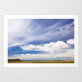 arizona view Art Print