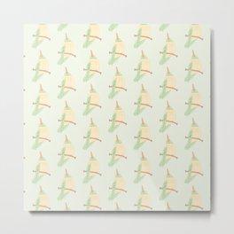 Hummingbird From Below Pattern Metal Print