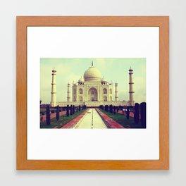 Taj Mahal by Rasmus Verdier Framed Art Print