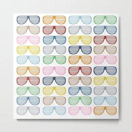 Rainbow Shades Metal Print