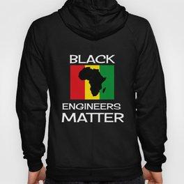 Black Engineers Matter Black History Month Gift Engineering Hoody