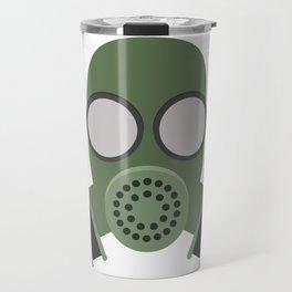 Army Gasmask Travel Mug