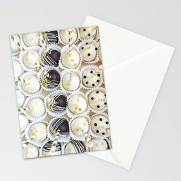 Colorful cake pops Stationery Cards