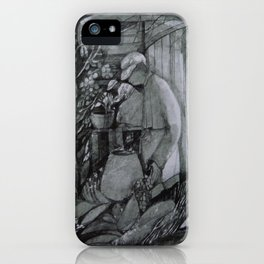 Wine Grower iPhone Case
