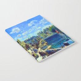 Renoir Pont Neuf Paris Notebook