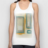 rothko Tank Tops featuring Soft And Bold Rothko Inspired by Corbin Henry