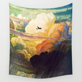 Catmota - N.C. Wyeth Wall Tapestry