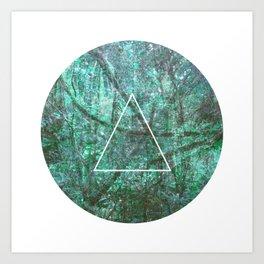 Geometrie #2 Art Print