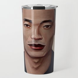 Elf Portrait Travel Mug