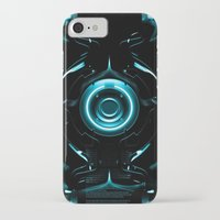 tron iPhone & iPod Cases featuring Tron  by Electra