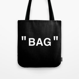 """ Art "" (Negative) Tote Bag"