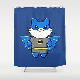 Batcat! Shower Curtain