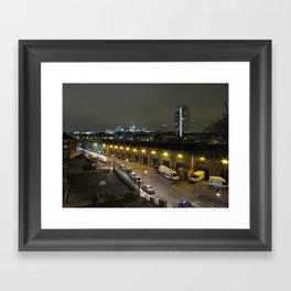 Night-time in London 1 Framed Art Print