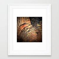 turkey Framed Art Prints featuring Turkey by Nichole B.