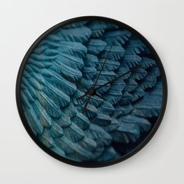 Ombre wings Wall Clock