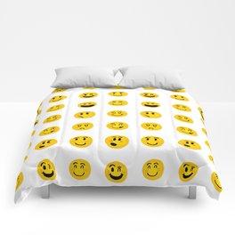 Cute Emoji pattern Comforters